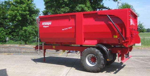 Krampe BigBody egytengelyes pótkocsi